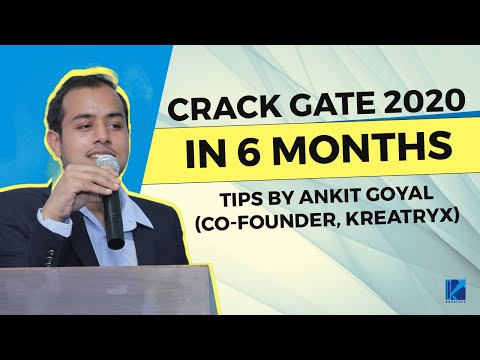 How to crack GATE 2018 in 6 Months?