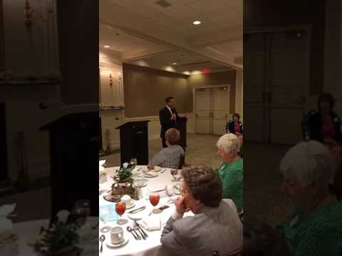 Speaking at the Jamestown Heritage Womens Club Luncheon | Co