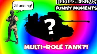 Multi-Role Tank Funny Moments #2 | Heroes & Generals