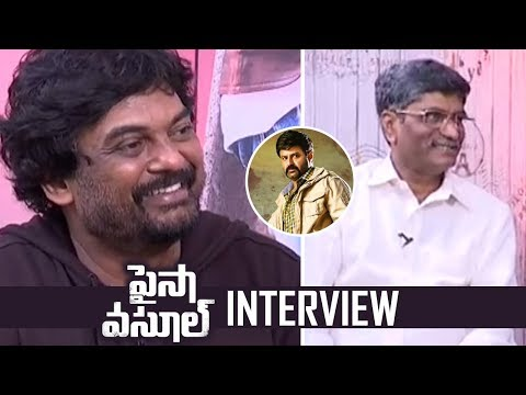 Director Puri Jagannadh and Producer V Anand Prasad Interview About Paisa Vasool | TFPC