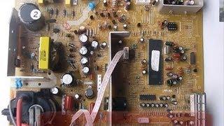 Procedimiento para arreglar un tv que no...