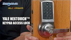Yale NexTouch™ Keypad Access Lock | Mr. Locksmith Video