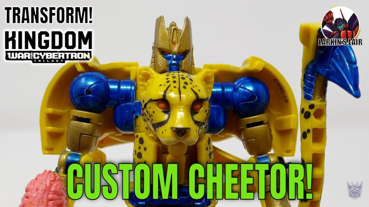 Custom War for Cybertron Kingdom Cheetor by Larkin's Lair