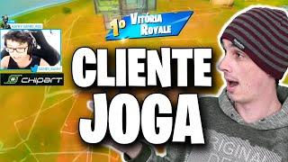 CLIENTE JOGA #1: REACT GAMEPLAY DO KAYKY!! JOGA DEMAIS!!!
