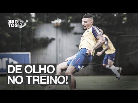 É GOLO! SANTOS TREINA CRUZAMENTOS E FINALIZAÇÕES | DE OLHO NO TREINO (09/01/20)