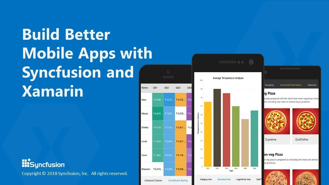 Build Better Mobile Apps with Syncfusion and Xamarin [Webinar]
