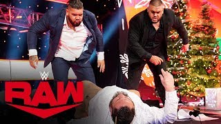 Seth Rollins and AOP lay waste to Rey Mysterio and Samoa Joe: Raw, Dec. 23, 2019