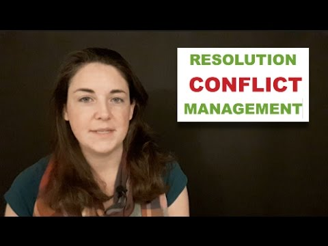 The Difference Between Conflict Management and Conflict Resolution
