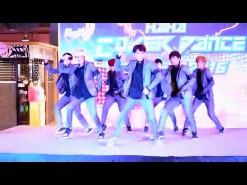 160508 Rambutan cover MONSTA X - Trespass + HERO @HaHa Cover Dance Contest (Audition#1)