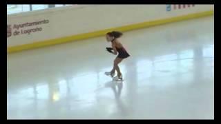 Fanny Maria Aranda. Patinaje Artístico Sobre Hielo. Campeonato De España 2014