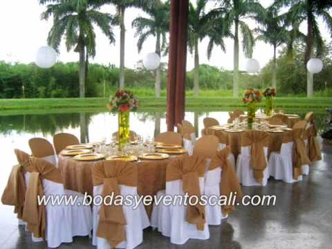 Decoraciones bodas y eventos cali youtube - Decoracion bodas ...