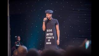 CHEKA TU. Mzalendo Edition. Mr Beneficial kwenye stage.