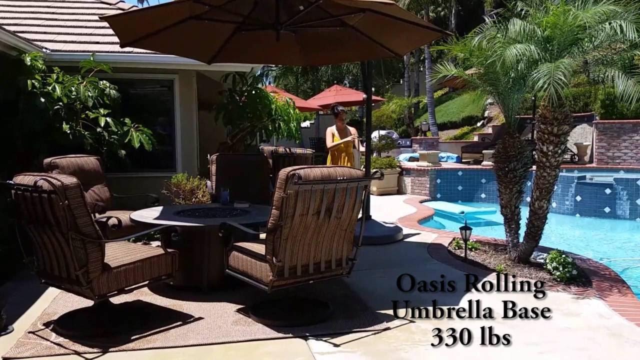 Oasis Rolling Base 330 Lbs Youtube