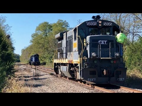 Unusual Locomotives Railway Shunting Part 2, Grain Spur, Cincinnati Eastern Railroad