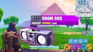 NEUES Update - Boom Box Item, Patchnotes (en anglais seulement) Fortnite Saison 7 Deutsch Allemand