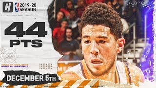 Devin Booker EPIC 44 Pts Full Highlights | Suns vs Pelicans | December 5, 2019