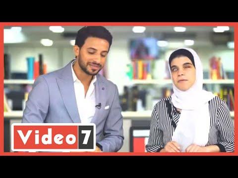 وزير التعليم وفاروق الباز يفاجئان الطالبة الأولي بالثانوية العامة -مكفوفين-  - 01:57-2020 / 8 / 5