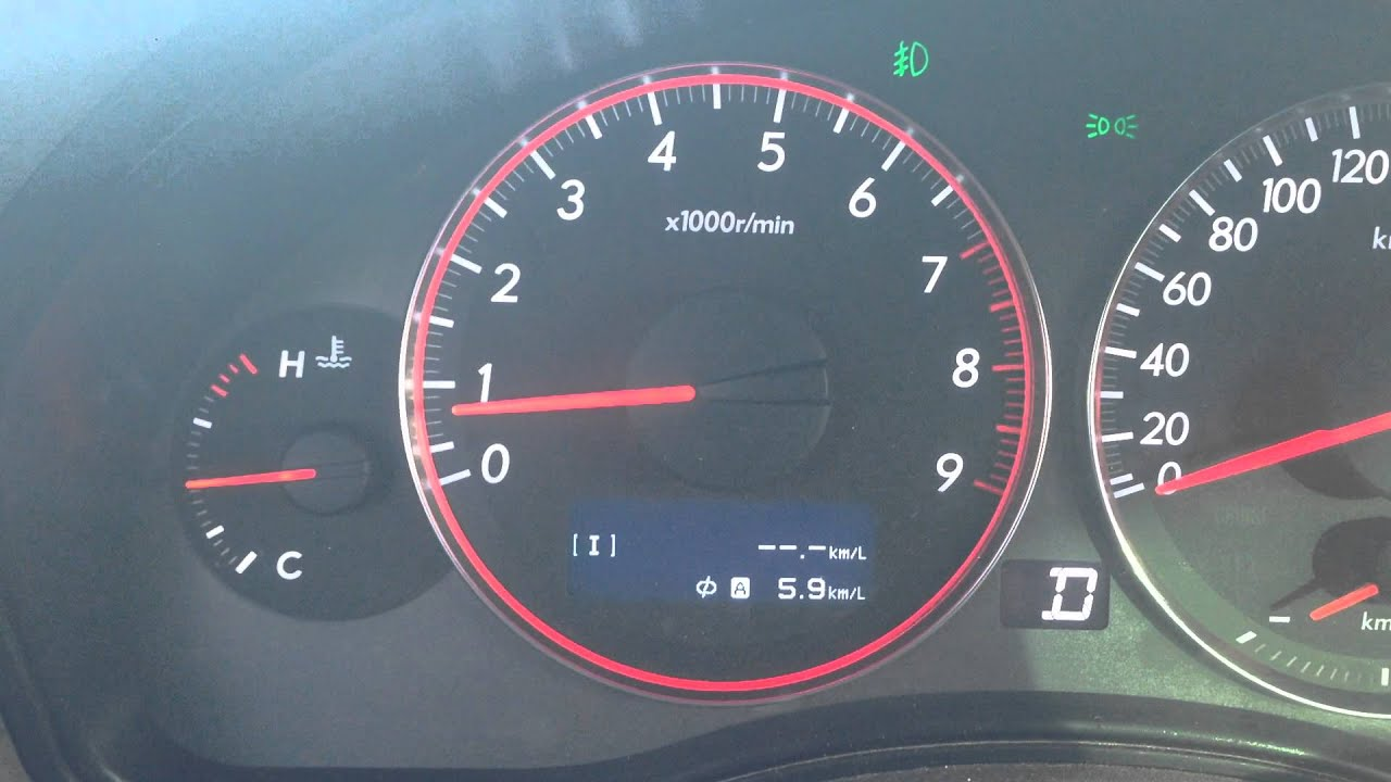 Провал оборотов при сбросе газа. Subaru Outback BP EZ30