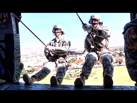 Rappeling From Helicopters