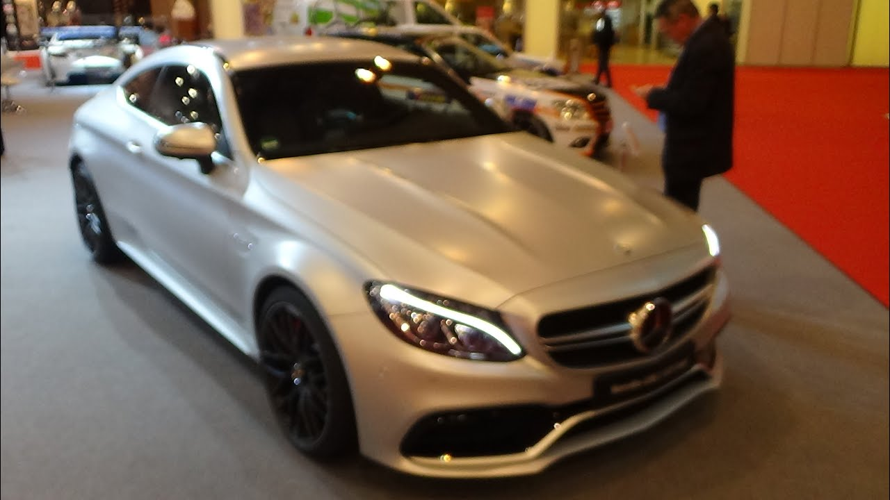 2015 mercedes benz amg c63s coup exterior and interior essen motor show 2015 youtube. Black Bedroom Furniture Sets. Home Design Ideas