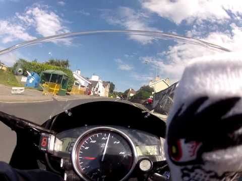 Manx Grand Prix MGP 2016 onboard lap Yamaha YZF-R6 Isle of Man TT Mountain Course