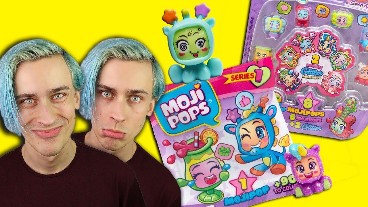 Moji Pops ???? BROKATOWE ???? SQUISHY ???? ŚMIESZNE ZWIERZAKI - zabawki lepsze niż Shopkins