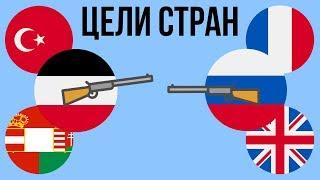 Цели стран в Первой мировой войне