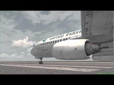 FSX [HD] Takeoff at PKMJ Marshall Island