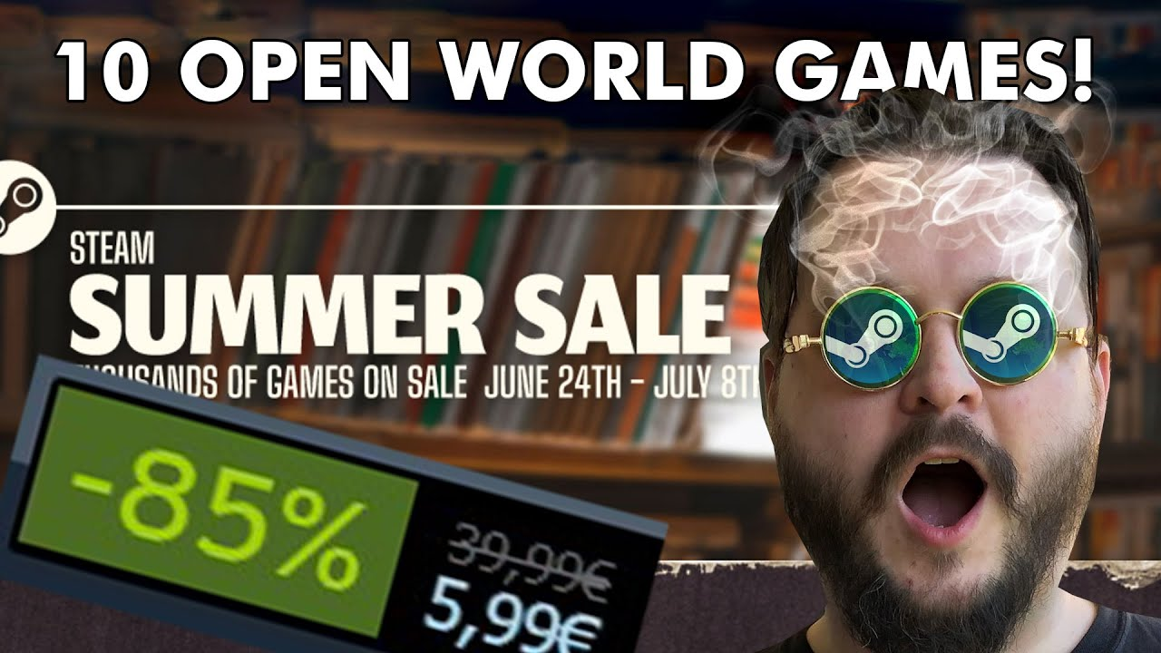 Steam Summer Sale: 10 discounted PC games to buy now