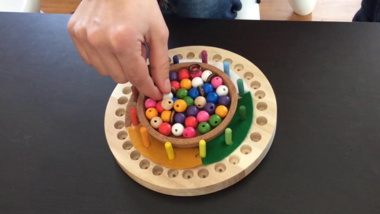 Calendario Montessori.Como Es Un Calendario Montessori