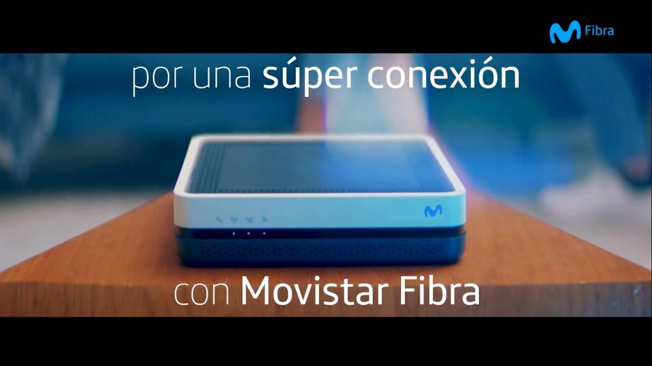 Súper lunes de súper conexión con Movistar Fibra