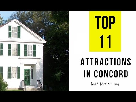 Top 11. Best Tourist Attractions in Concord, New Hampshire