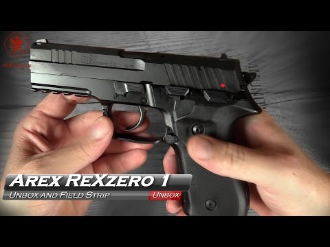 Arex RexZero 1 Unboxing and Disassembly