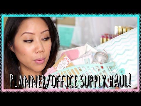 Planner/Office Supply Haul! Target, IKEA, Daiso & Hobby Lobby
