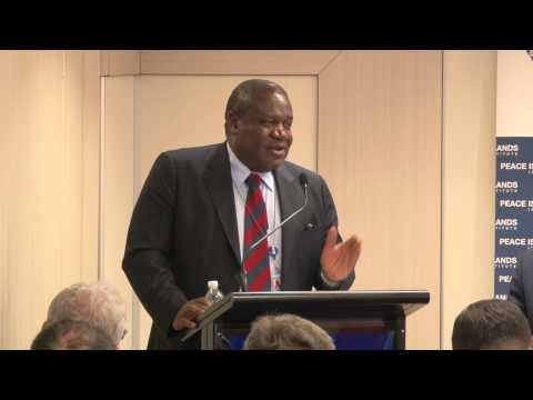 H.E. Kingsley Mamabolo - Permanent Representative of South Africa to the United Nations