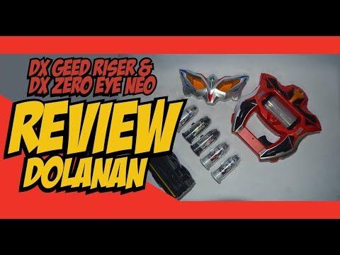 Review Dolanan : DX Geed Riser & DX Zero Eye Neo (Ultraman Geed & Ultraman Zero/Zero Beyond)