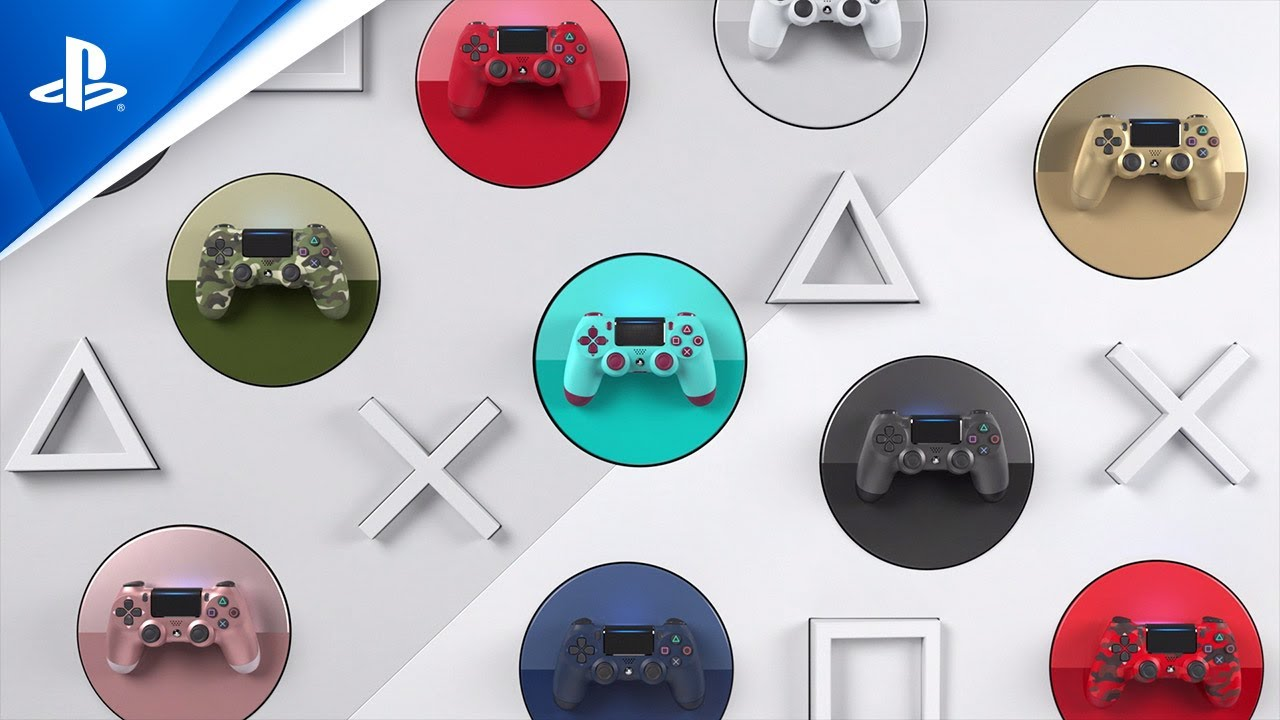 Dualshock 4 Wireless Controller | Unleash Your Colour | PS4