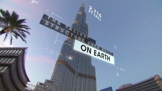 The tech behind world's tallest building