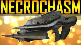 Destiny - How to get Necrochasm! Exotic Auto Rifle!
