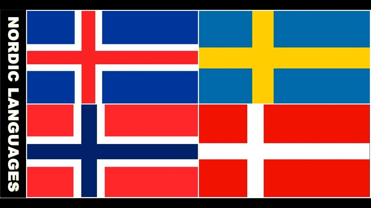 Nordic Languages Compared Danish Norwegian Swedish And Icelandic Verbale Mondo