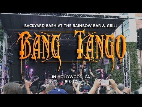 Bang Tango - Backyard Bash @ Rainbow Bar & Grill in Hollywood, CA 9-3-17 [FULL SET]