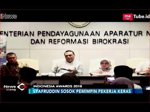 Menpan RB Syafruddin Jadi Juri Acara Indonesia Awards 2018 - INews Siang 14/11