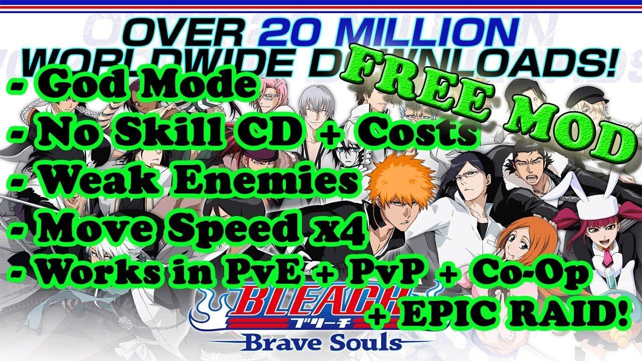 BLEACH Brave Souls Ver  9 0 3 MOD Menu APK | God Mode | Weak Enemies | Inf   Skills | Movespeed x4