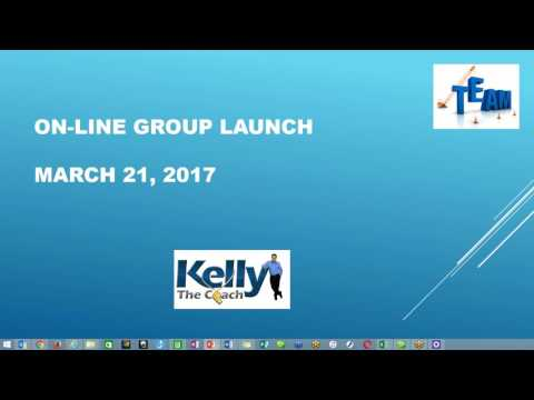 Kelly the Coach On-Line Group Launch