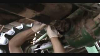Fwd On A John Deere 7410 Tractor.