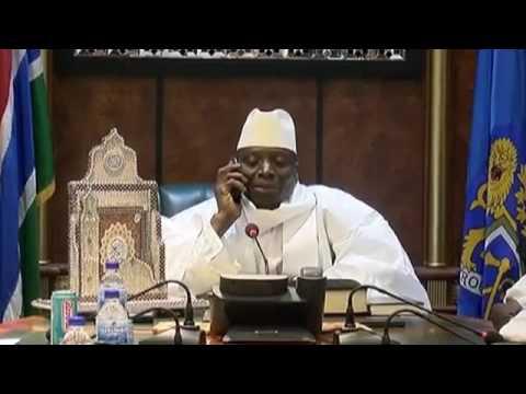 Président Yaya Jammeh appelle Adama Barrow pour le féliciter de sa victoire