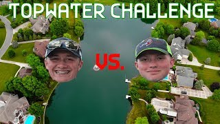 ULTIMATE Topwater Bass Fishing Challenge!!!