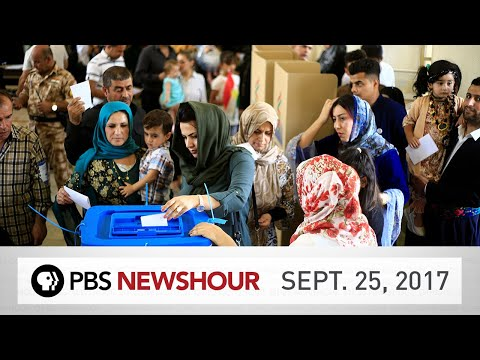 PBS NewsHour full episode Sept. 25, 2017