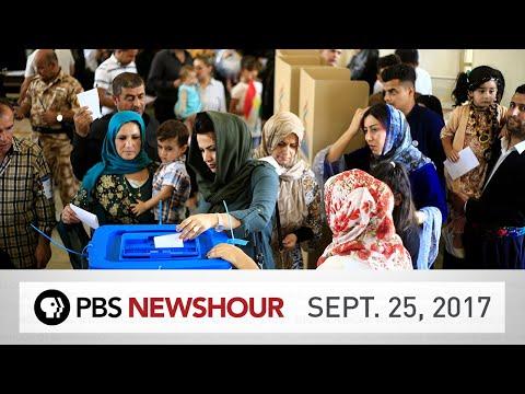 PBS NewsHour full episode Sept. 25, 2017