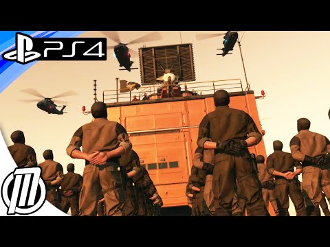 Metal Gear Solid 5 Phantom Pain: MULTIPLAYER FOB Gameplay! INFILTRATING FORWARD OPERATING BASES! PS4